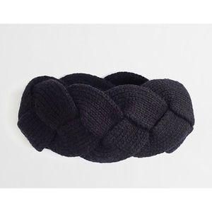 J.Crew Wool Blend Braided Headband